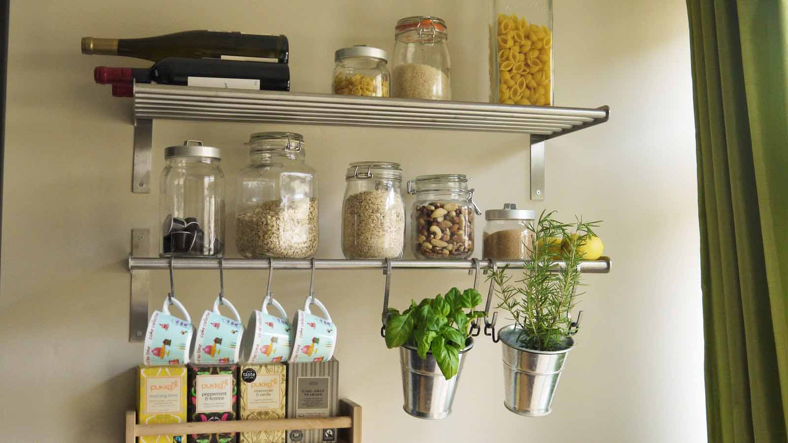 kitchen shelving ideas designer kitchens 7 smart ways to save a ton of space in your small