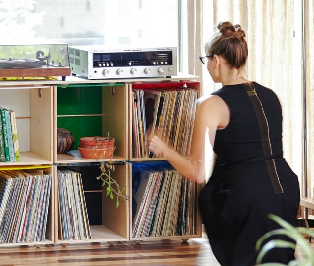 Vinyl Record Storage  Incredibly Stylish And Fun Solutions