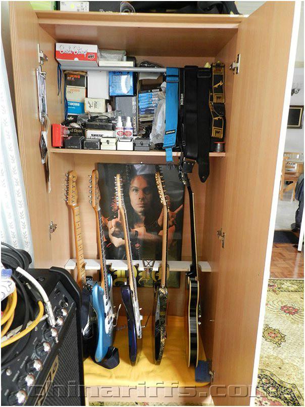music instrument and equipment storage