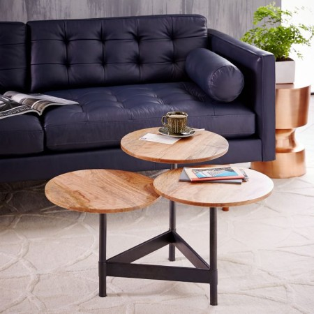 coffee tables for small living rooms decorating a room 8 best spaces tiered circles table