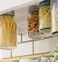48 easy kitchen storage hacks and solutions that will instantly upgrade your life [ 1280 x 715 Pixel ]