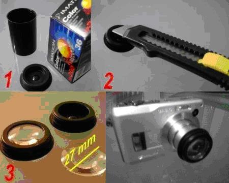 DIY macro lens