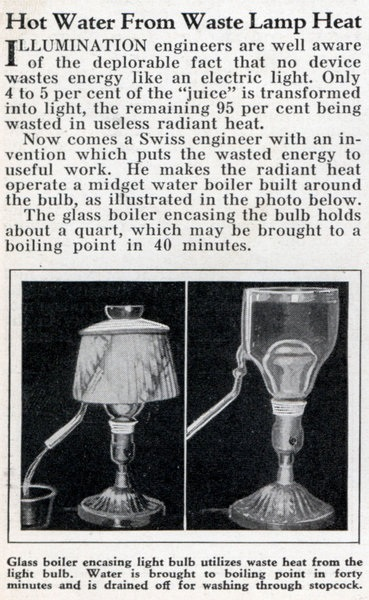 Lrg Hot Water Lamp