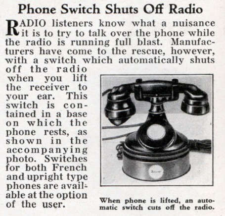 Med Phone Radio Switch