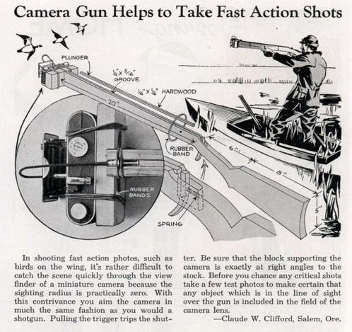 Lrg Camera Gun