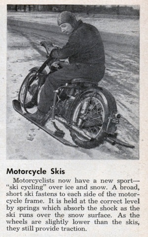 Med Motorcycle Skis