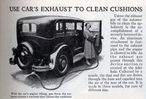 Lrg Car Exhaust Cleaner