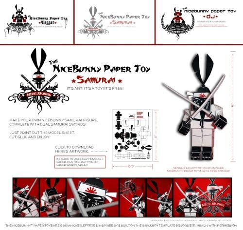 Samurai Toy