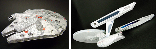 Scifi Papercrafts