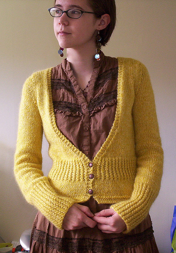 Mrs. Darcy Knit Cardigan Pattern | Make: