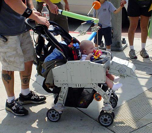 Star Wars AT-AT Baby Stroller | Make: