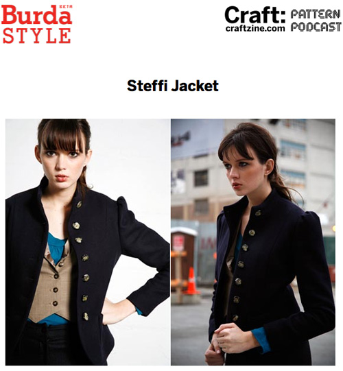 Craftpodcast Burda Steffi