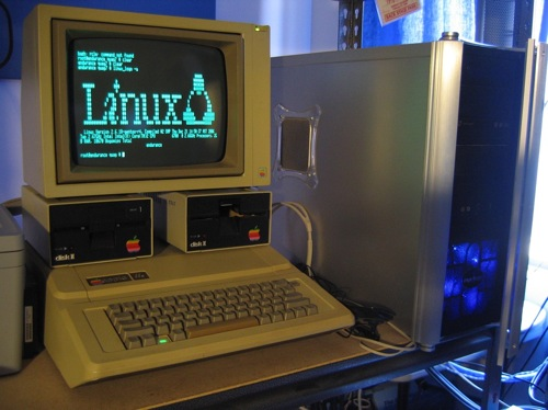 Apple2E-Linuxlogo