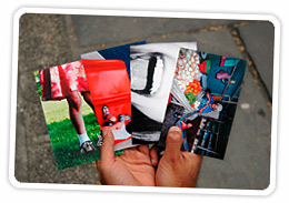 Make postcards from pictures