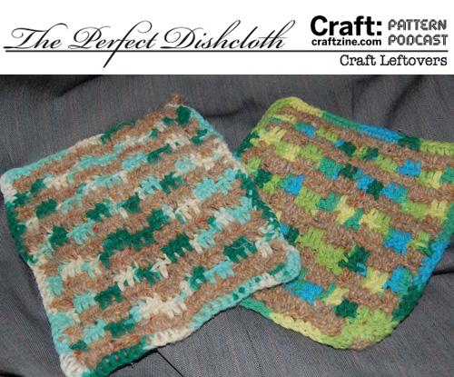 Craftpodcast Dishcloth