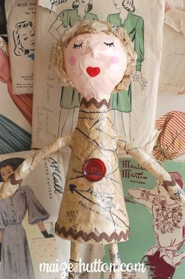 Papermachedoll