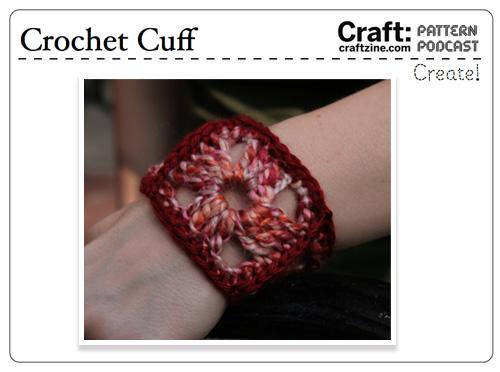 Craftpodcast Crochetcuff