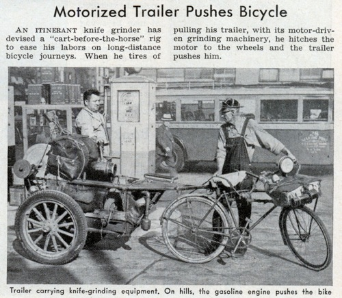 Lrg Motorized Trailer