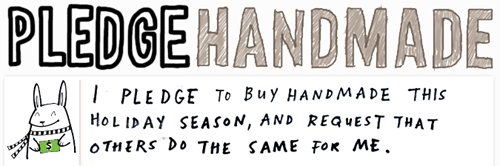Buyhandmade Pledge