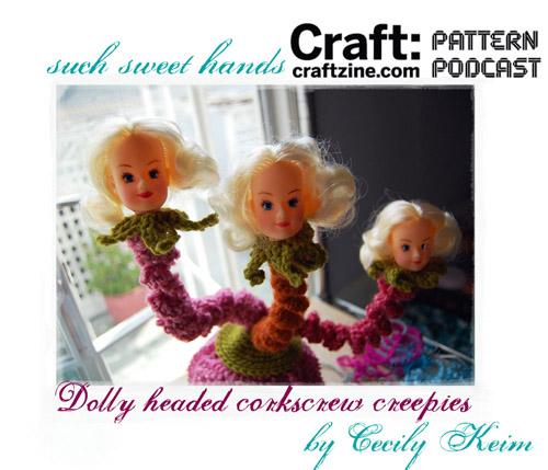 Craftpodcast Cecilydollycreepies