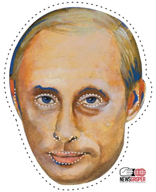 Brand New The Vlad Vladimir Putin Mask