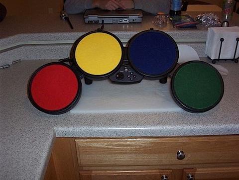 Rock Band Drum Dampening