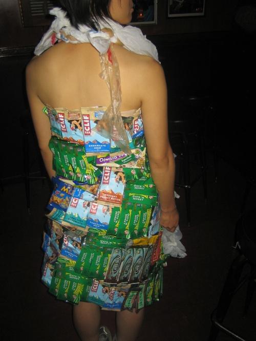 Back Of Dress Close Up