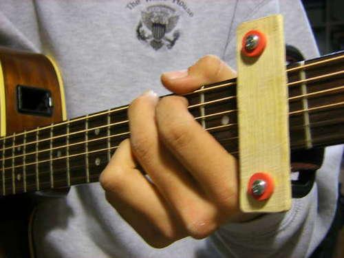 How To Make A Guitar Capo Make