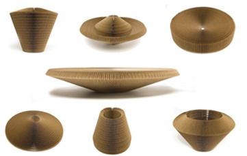 Liquid Vase Bowl Cardboard Placemat