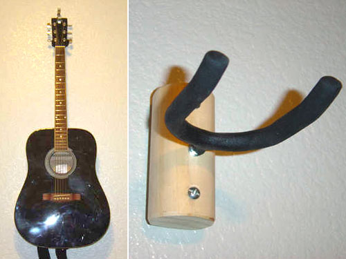 How To Guitar Wall Hanger Make