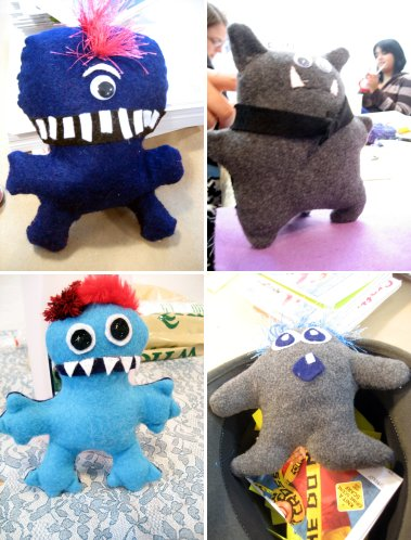 ny felt monsters