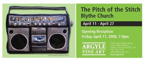 pitch of the stitch