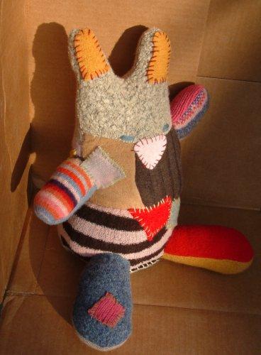 wooley bunny