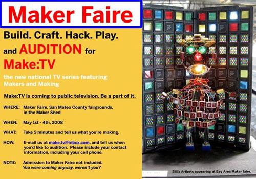 Makerfaire Audition