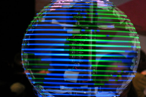 Makerfaire Led Globe2