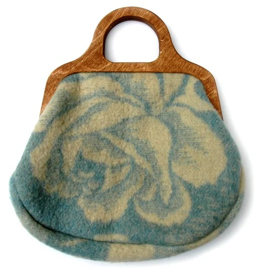 recycled blanket bags
