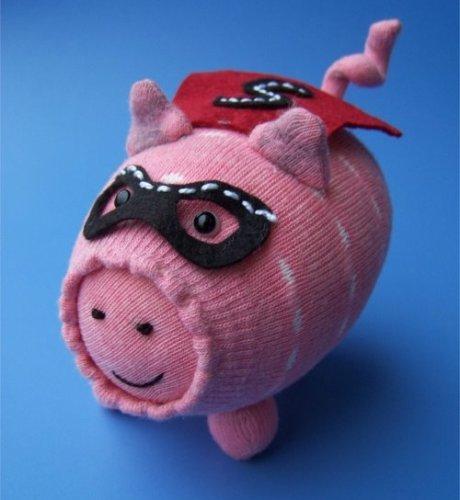 super sock pig