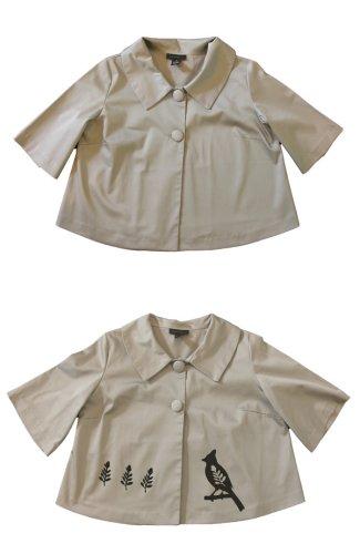 elsa mora screenprint jacket