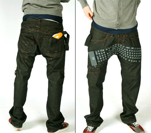 Keyboard Pants Backfront