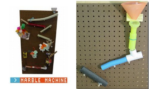 how to make a marble machine