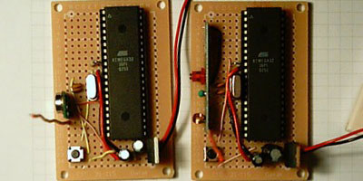 Rf Receiver Transmitter Atmega32 Crop