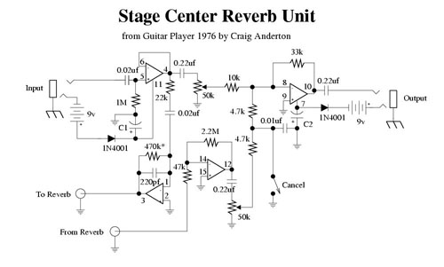 Stage Center Reverb Schem