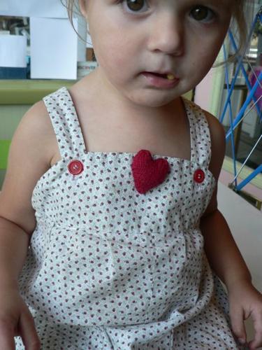 Heartpinpattern
