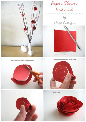 How To Make Paper Flowers Make