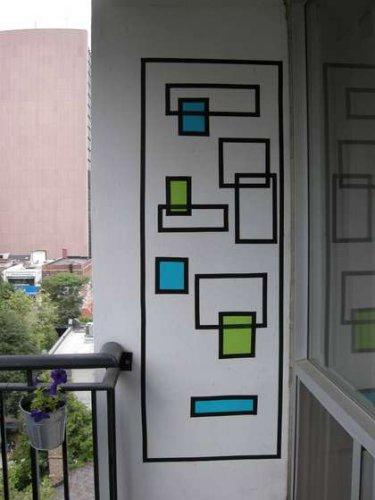 wall art tape