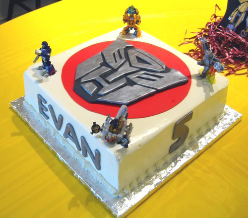 Fantastic Transformers Birthday Cake Make Personalised Birthday Cards Paralily Jamesorg