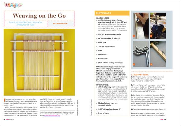 Craft08 Weaving Loom