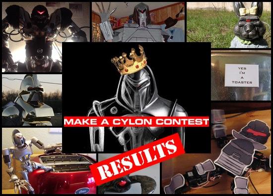 Make A Cylon Results