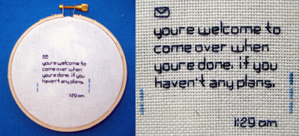 Embroiderytextmsg