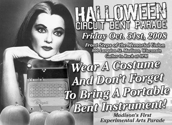 Halloween Circuitbendparade